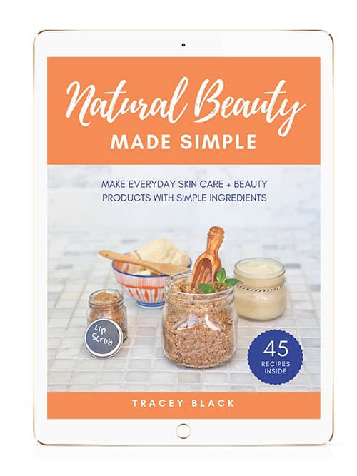 natural beauty made simple ebook graphic