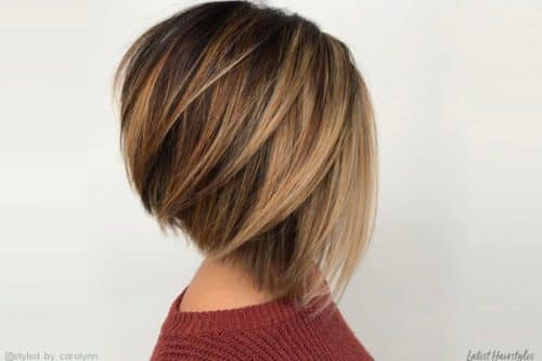 Best short hair with highlights