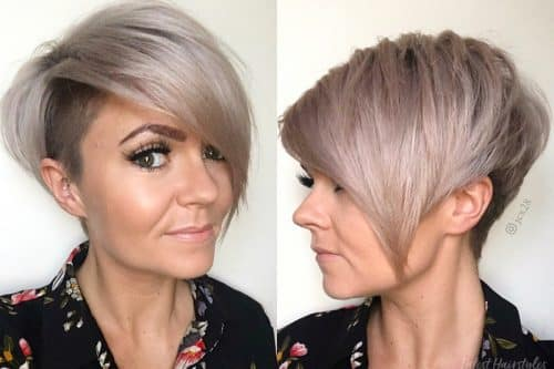 Short hairstyles and haircuts for women over 40